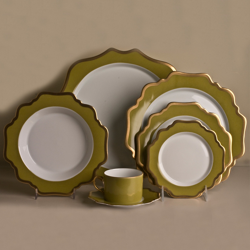 Anna's Palette Dinnerware, Meadow Green