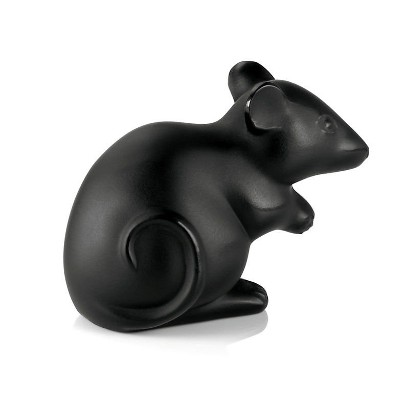 Lalique Mouse, Black