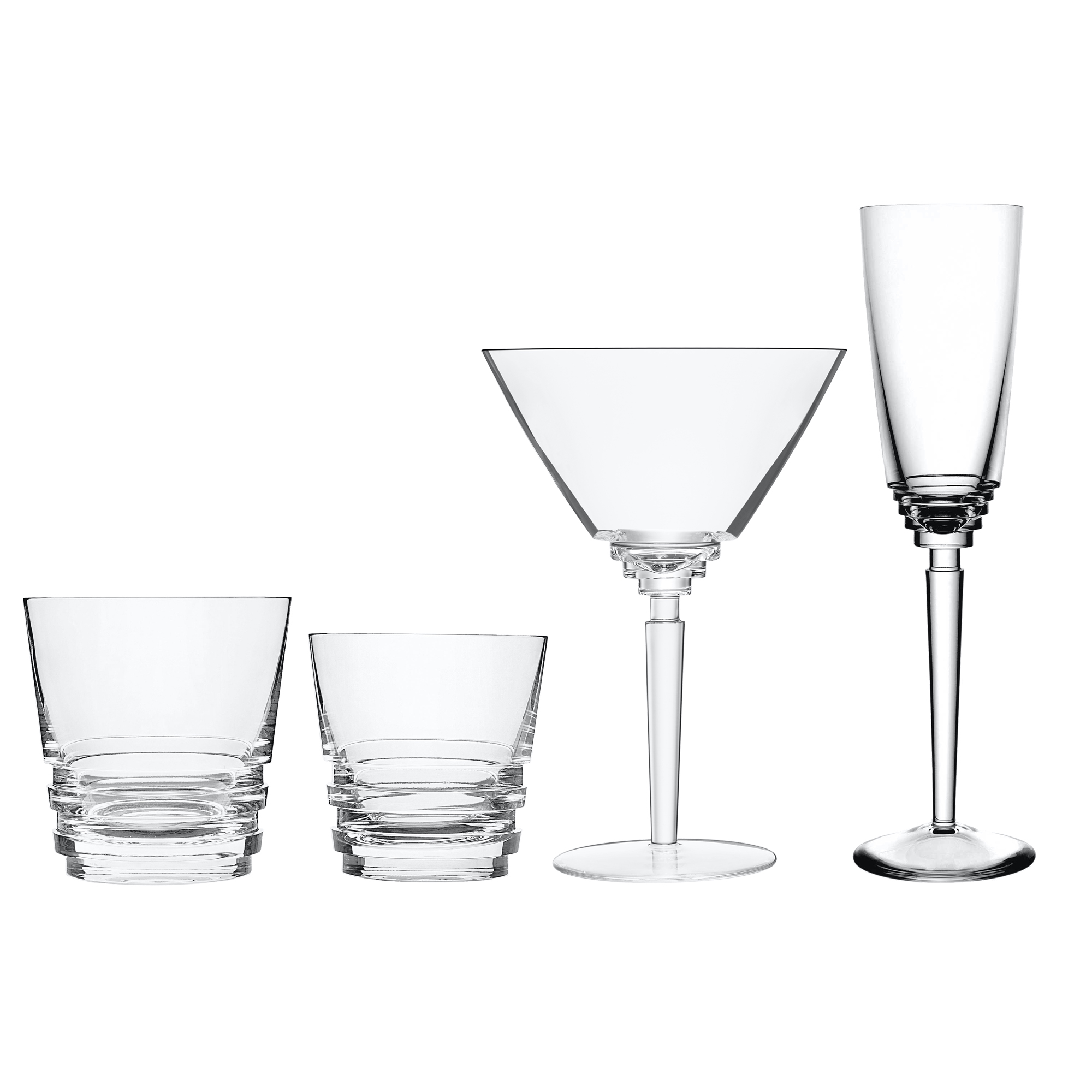 Saint-Louis Oxymore Glassware