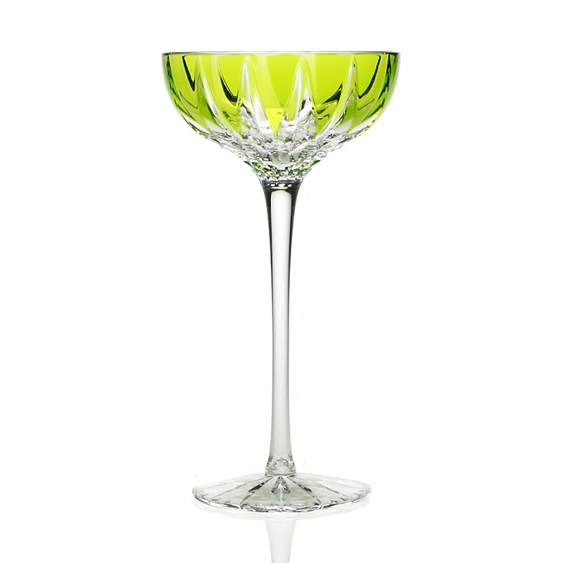 William Yeoward Crystal Vita Coupe Cocktail Glass, Green