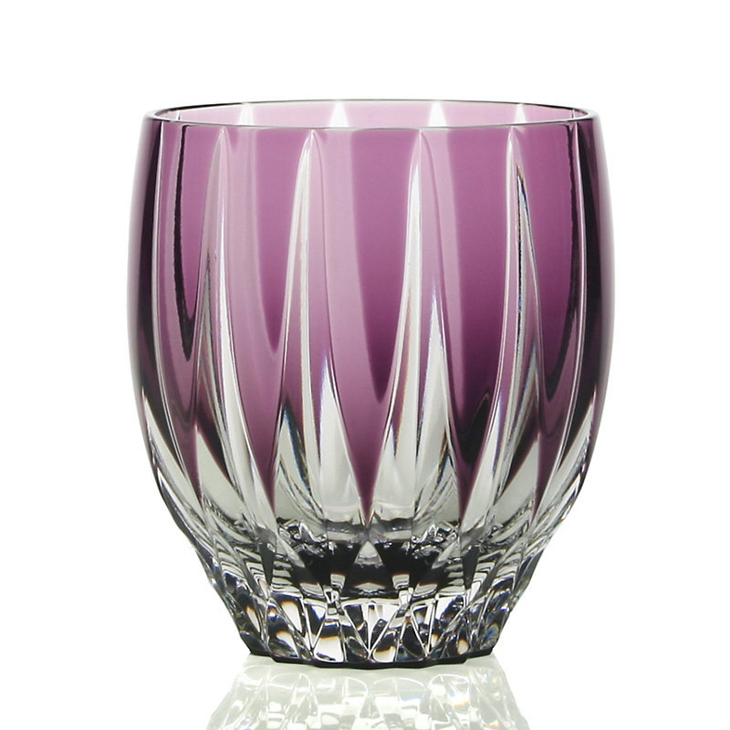 William Yeoward Crystal Vita Double Old-Fashioned Tumbler, Amethyst
