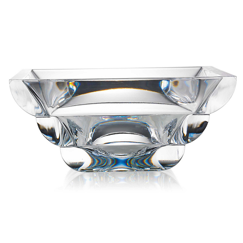 Rogaska Adria Square Centerpiece Bowl