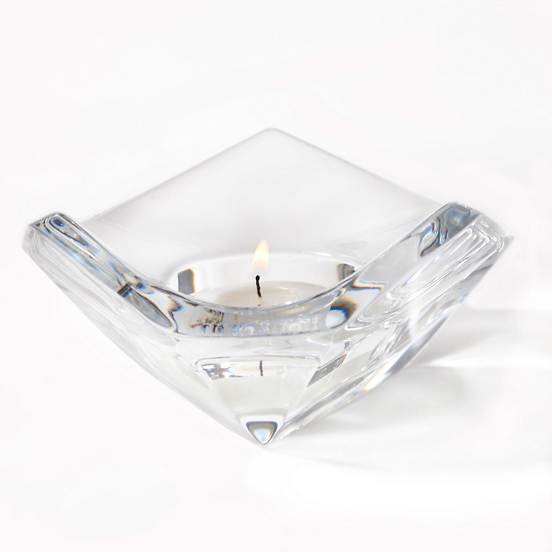 Rogaska Prism Votive Holder