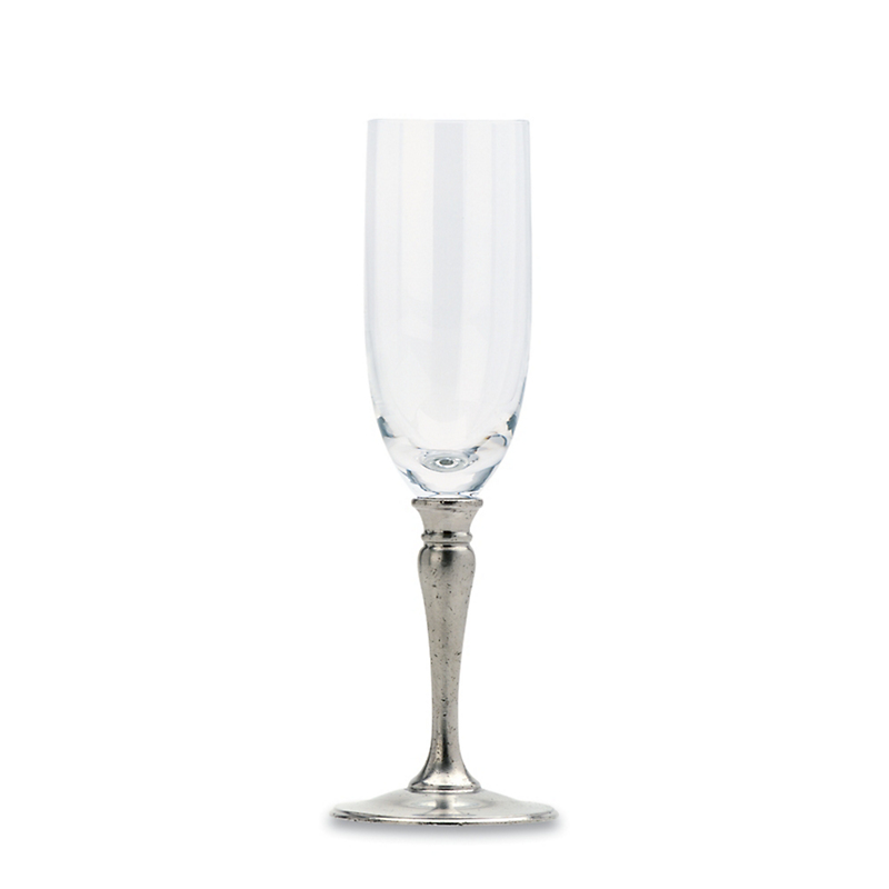 Match Crystal Champagne Flute
