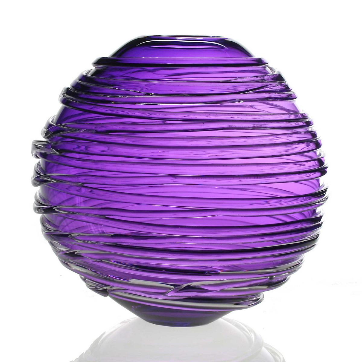 William Yeoward Sophie Vase Purple Gumps