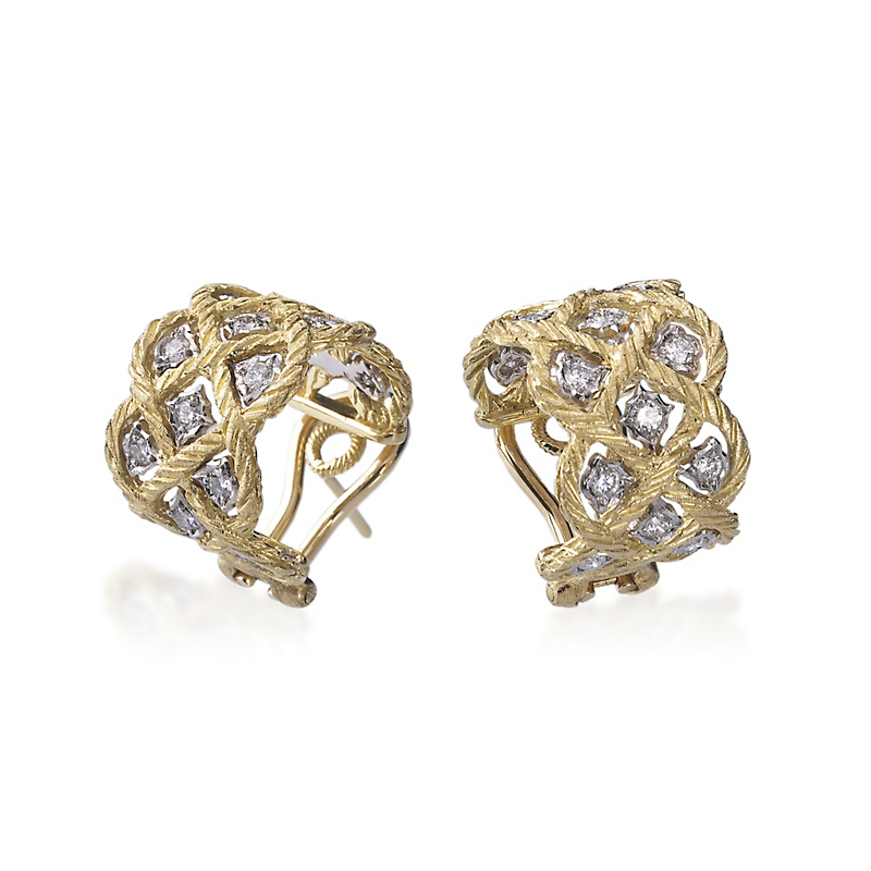Buccellati Étoilée Hoop Earrings