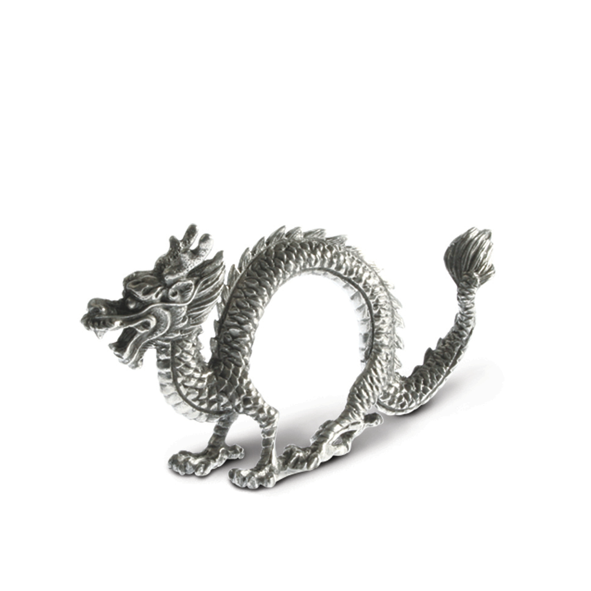 Vagabond House Dragon Napkin Rings, Set of 4