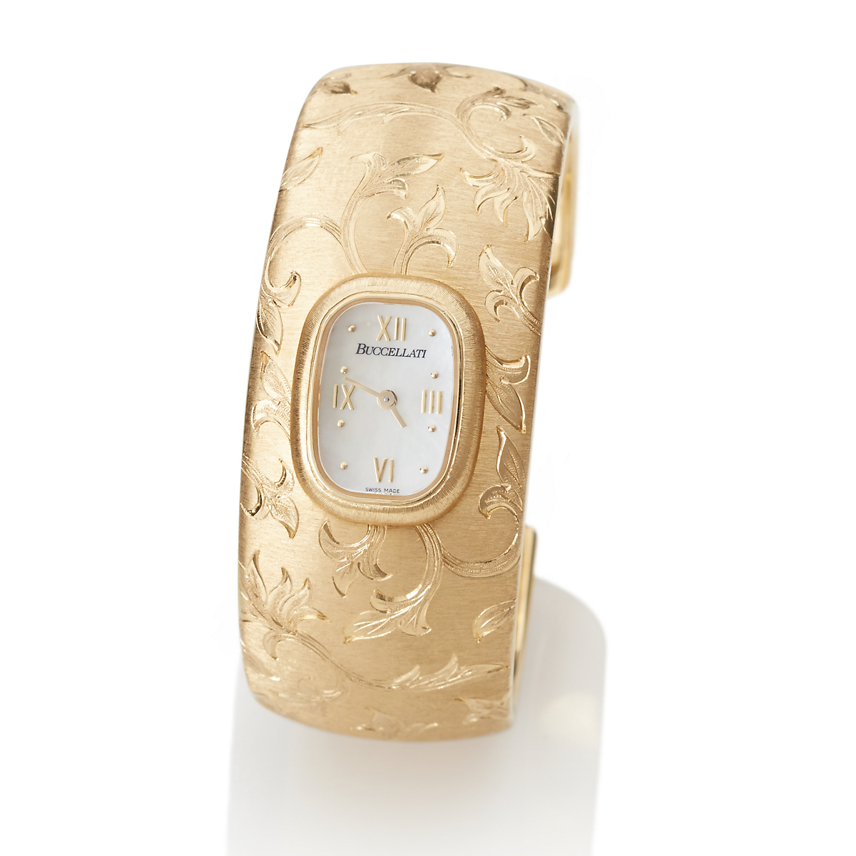 Buccellati Ramage Gold Cuff Watch