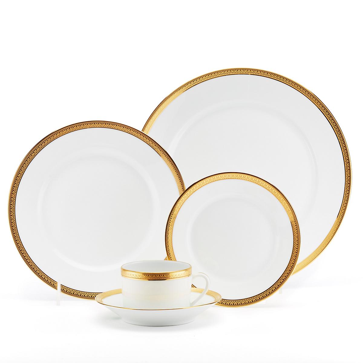 Haviland-Parlon Malmaison Dinnerware, Gold   Gump\'s