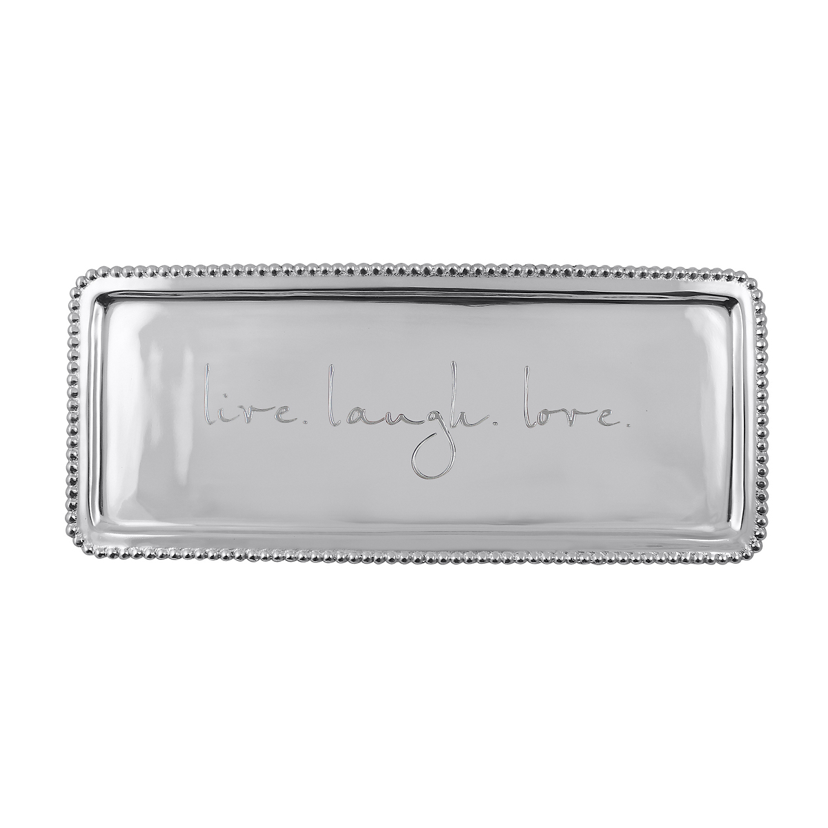 Mariposa Live, Laugh, Love Large Tray