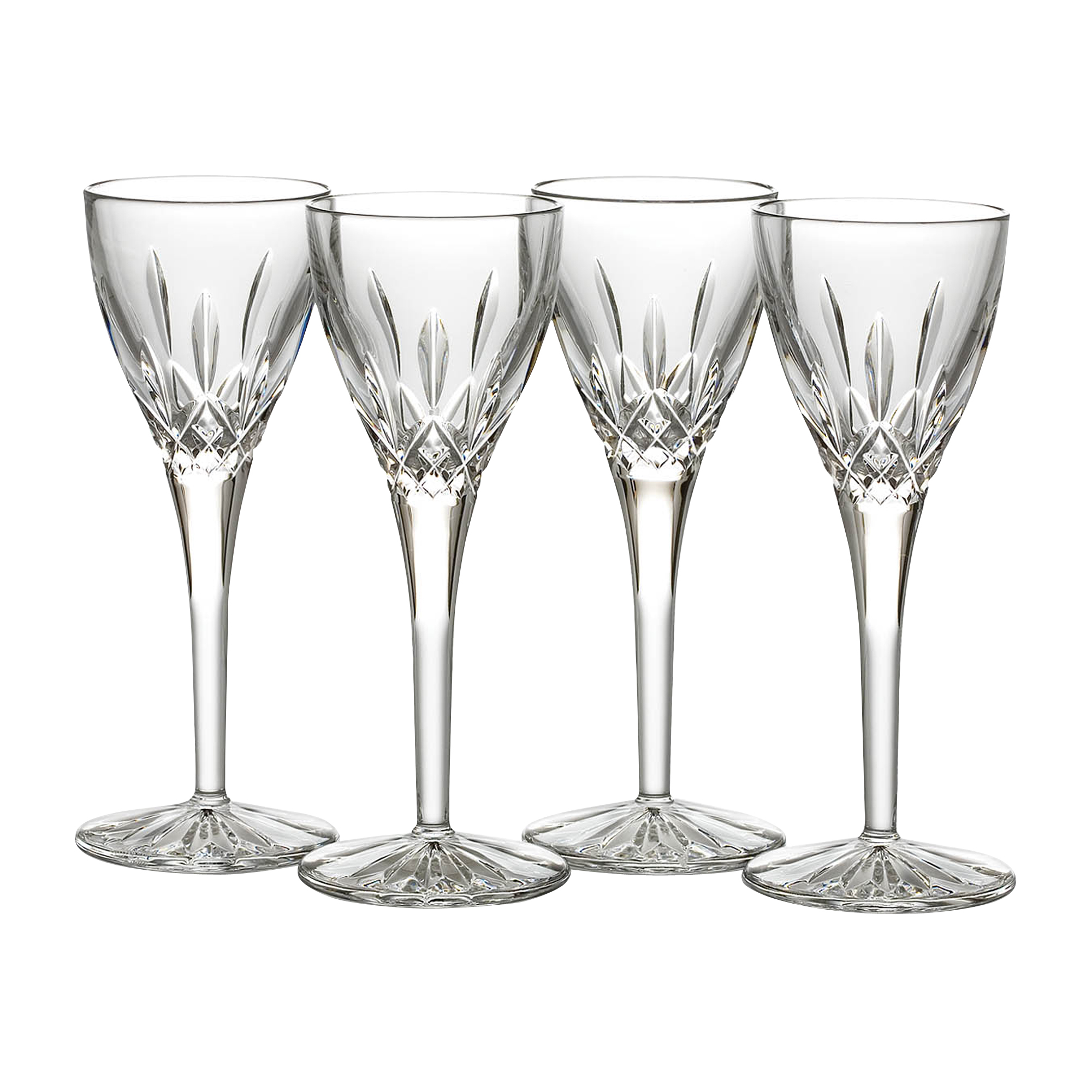 Waterford Lismore Cordials, Set of 4
