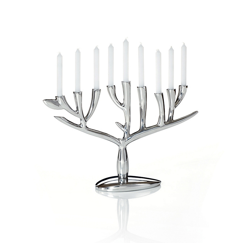 Nambé Menorah Tree Of Life