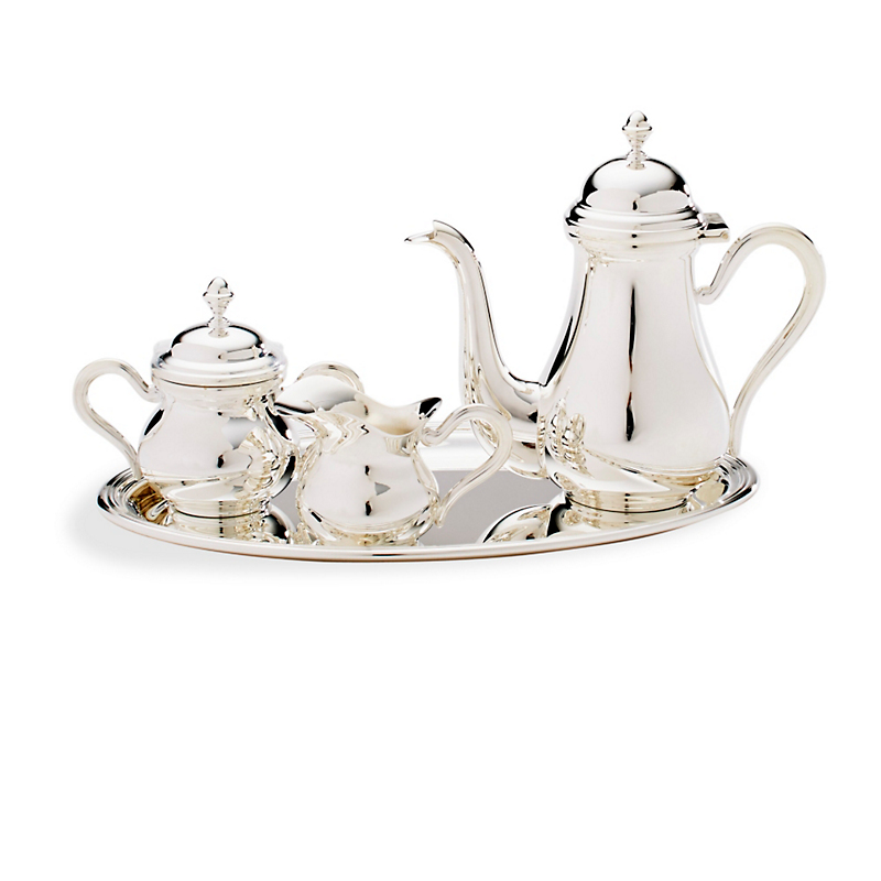 Christofle Miniature Tea Set in Presentation Box