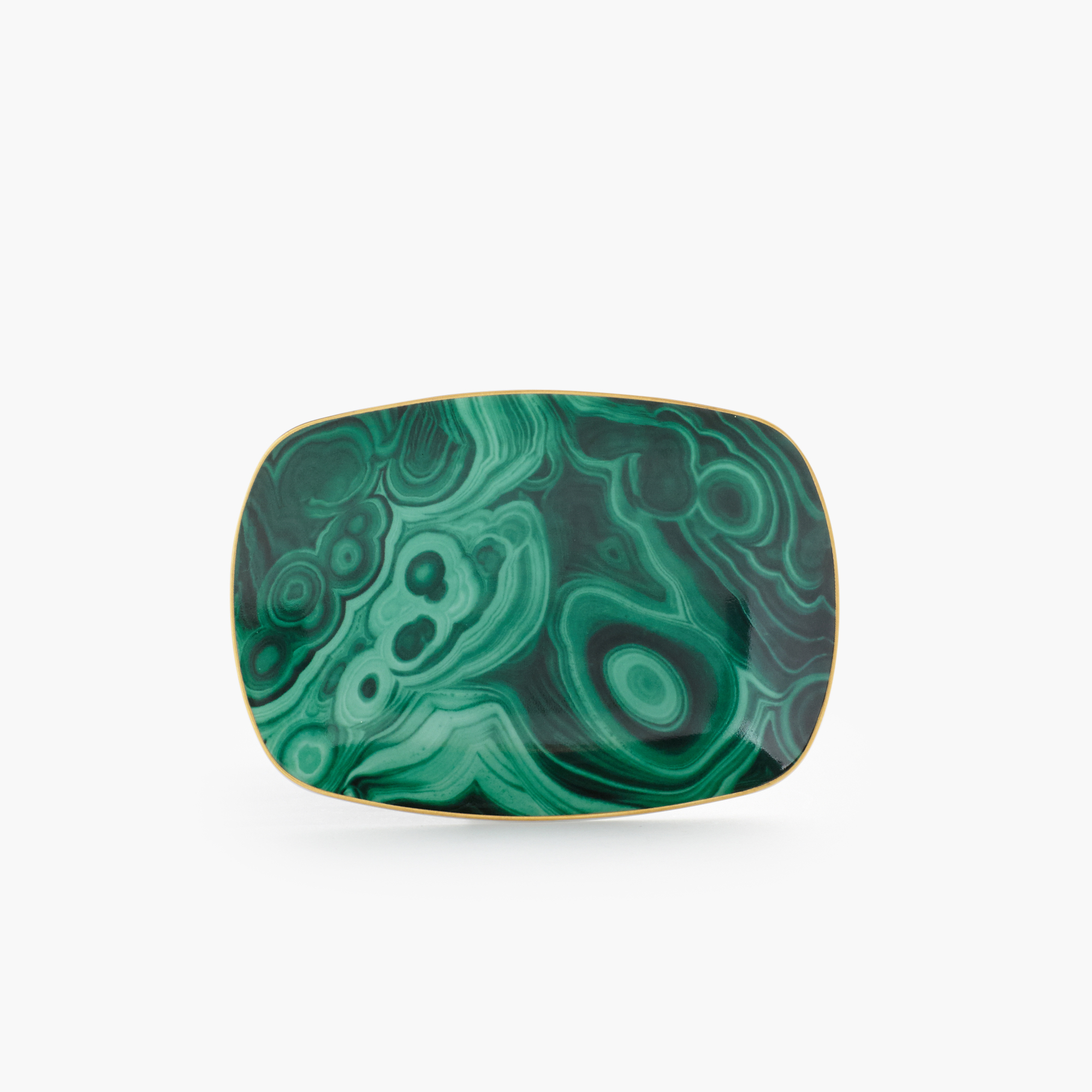 L'Objet Small Malachite Tray