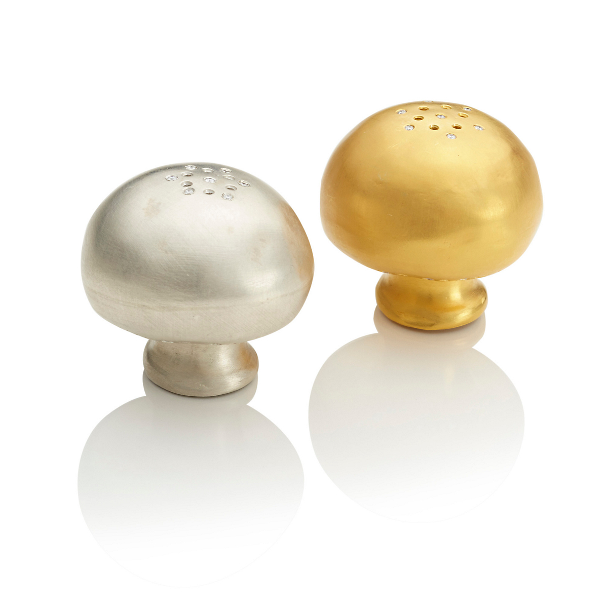 Paolo Costagli Mushroom Salt & Pepper Shakers