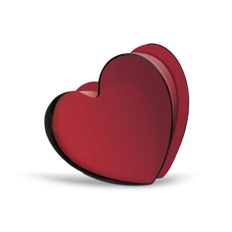 Baccarat Zinzin Heart Red Large