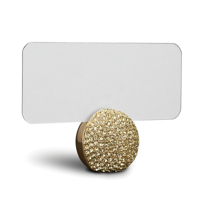 L'Objet Gold Sphere Placecard Holders, Set of 6