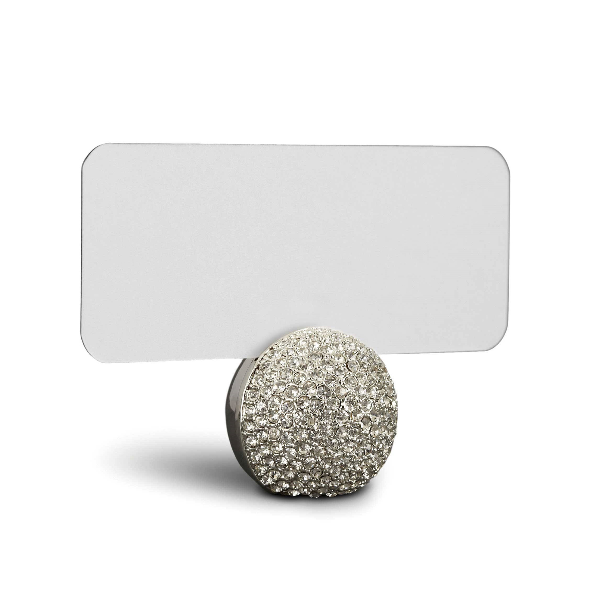L'Objet Platinum Sphere Placecard Holders, Set of 6