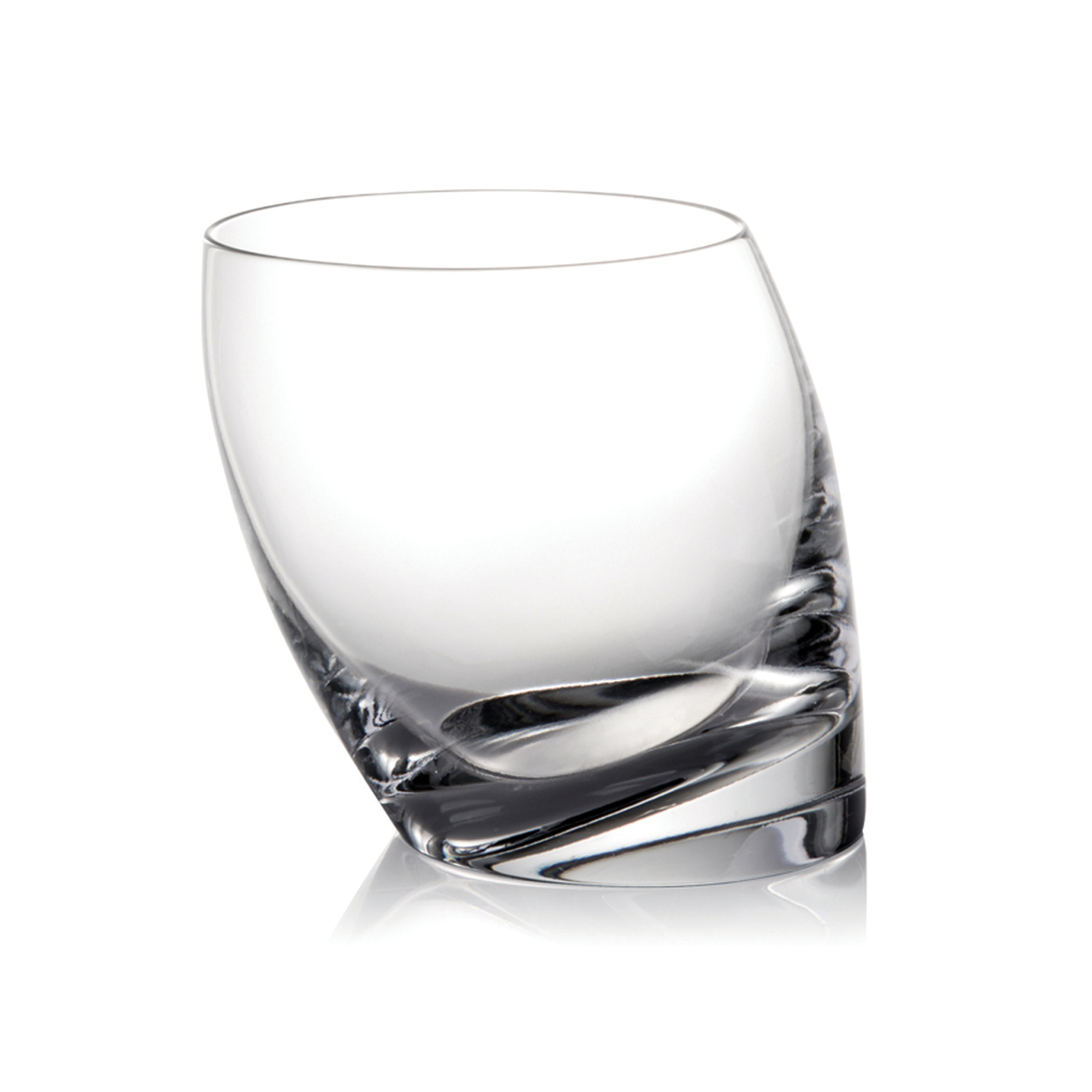 Nambé Tilt Double Old-Fashioned Glass
