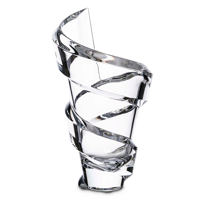 Baccarat Spiral Vase, Small
