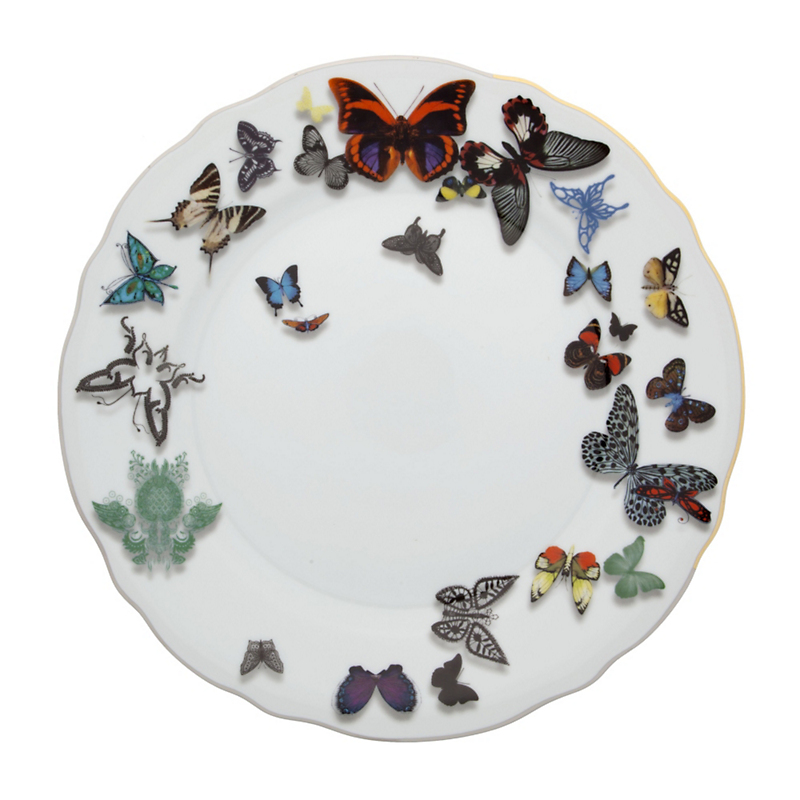 Christian Lacroix Maison Butterfly Parade Dinner Plate