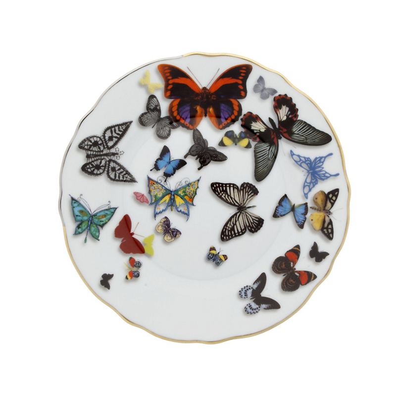 Christian Lacroix Maison Butterfly Parade Bread & Butter Plate