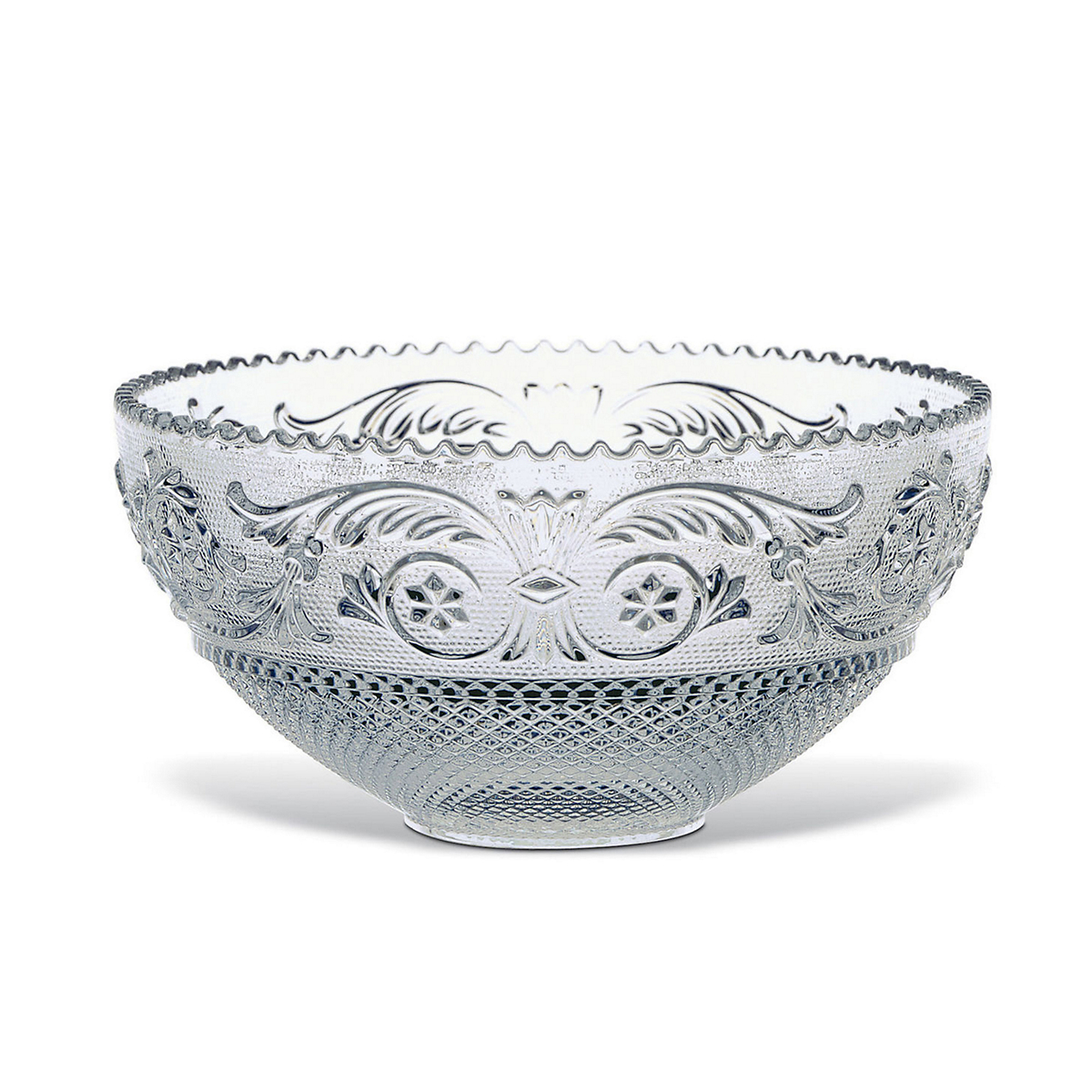 Baccarat Large Arabesque Centerpiece Bowl