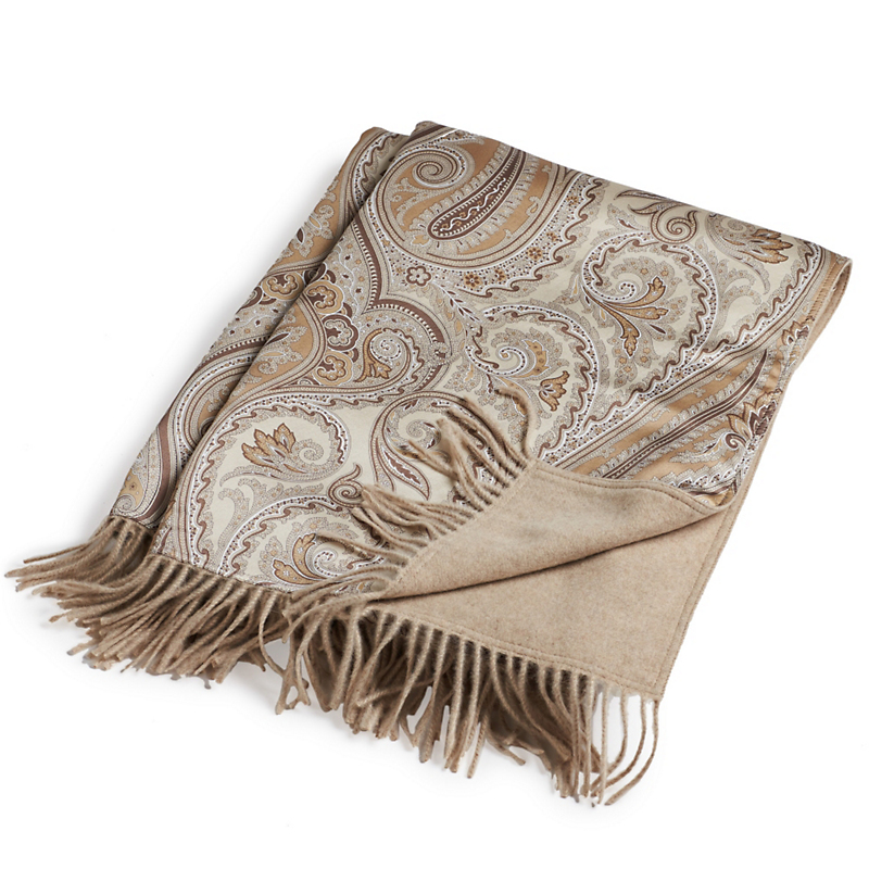 Silk & Cashmere Reversible Throw