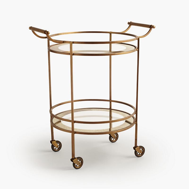 wade brass bar cart gump 39 s. Black Bedroom Furniture Sets. Home Design Ideas