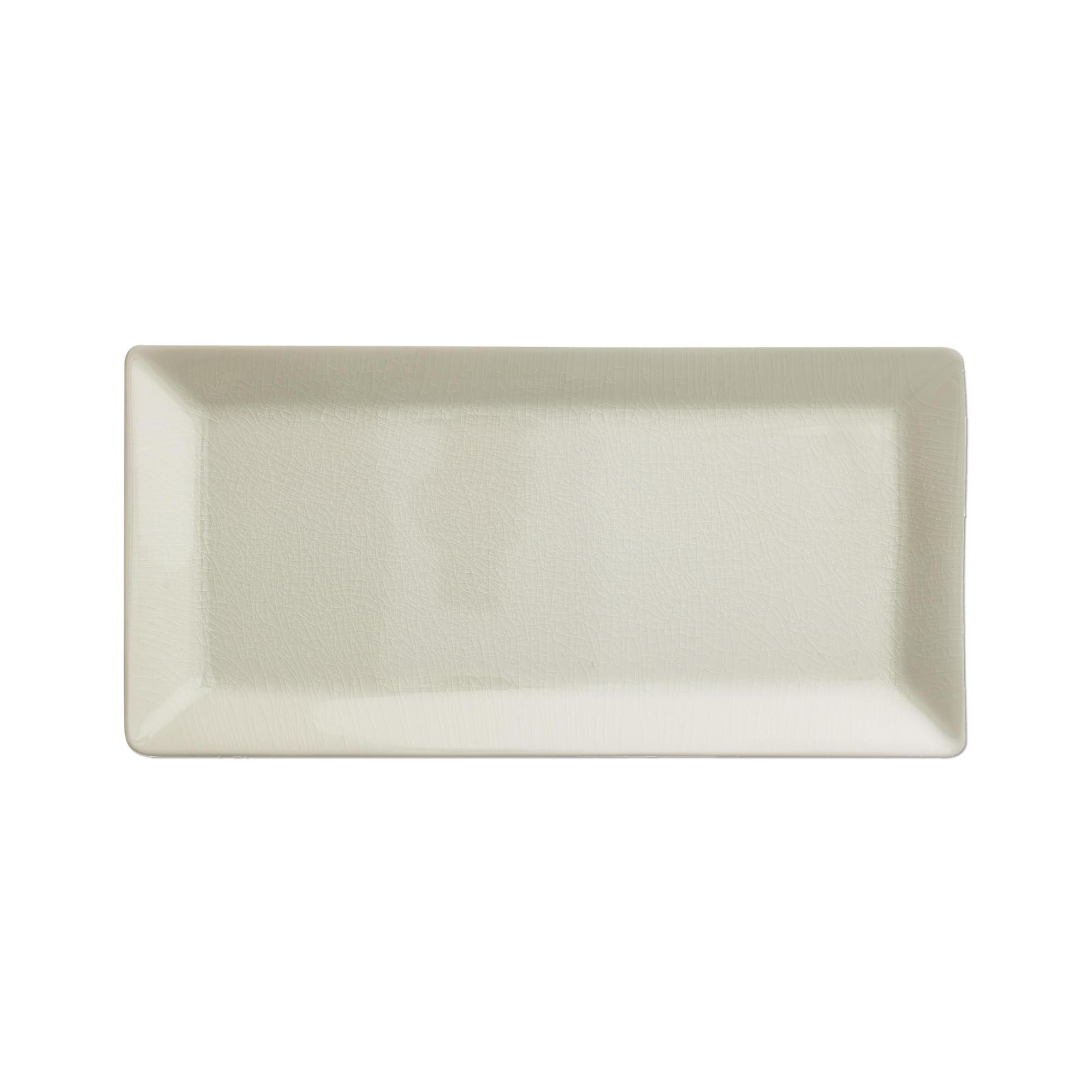 Kim Seybert Crackle Opal Rectangular Tray