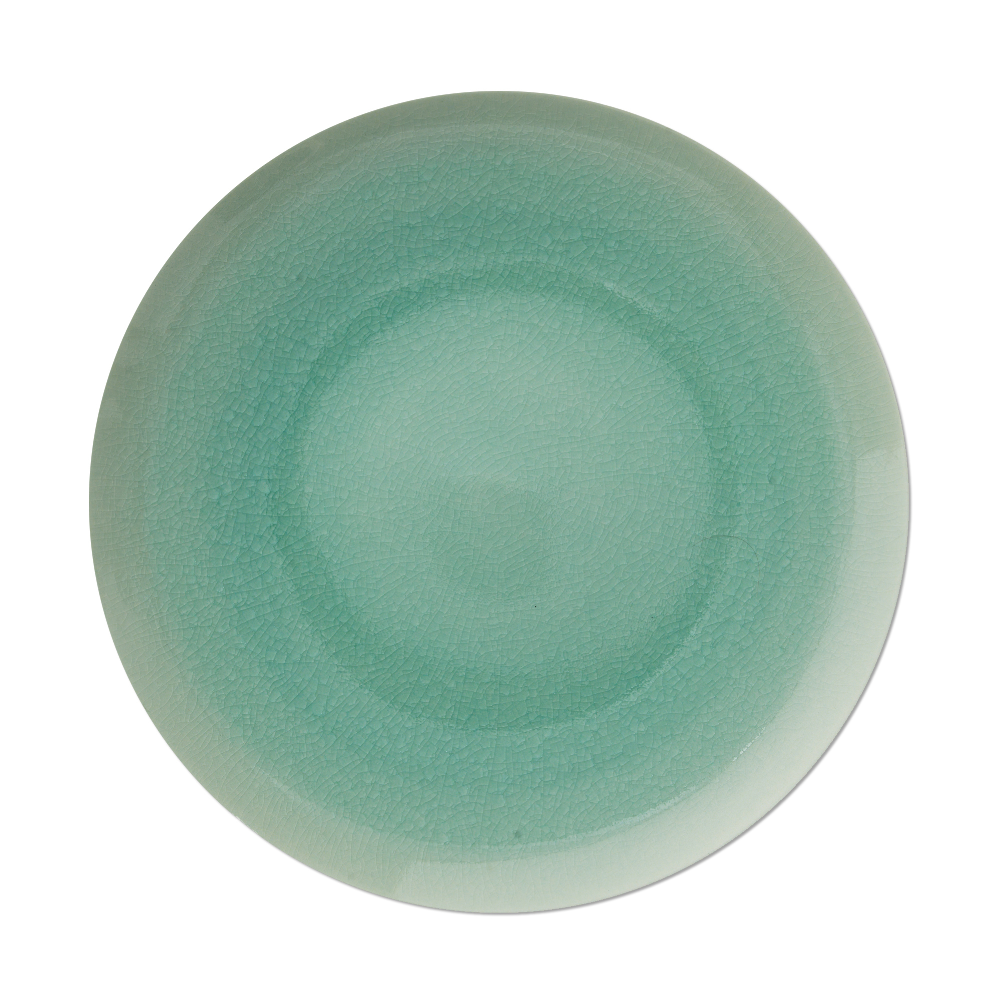 Kim Seybert Crackle Sea Glass Porcelain Charger