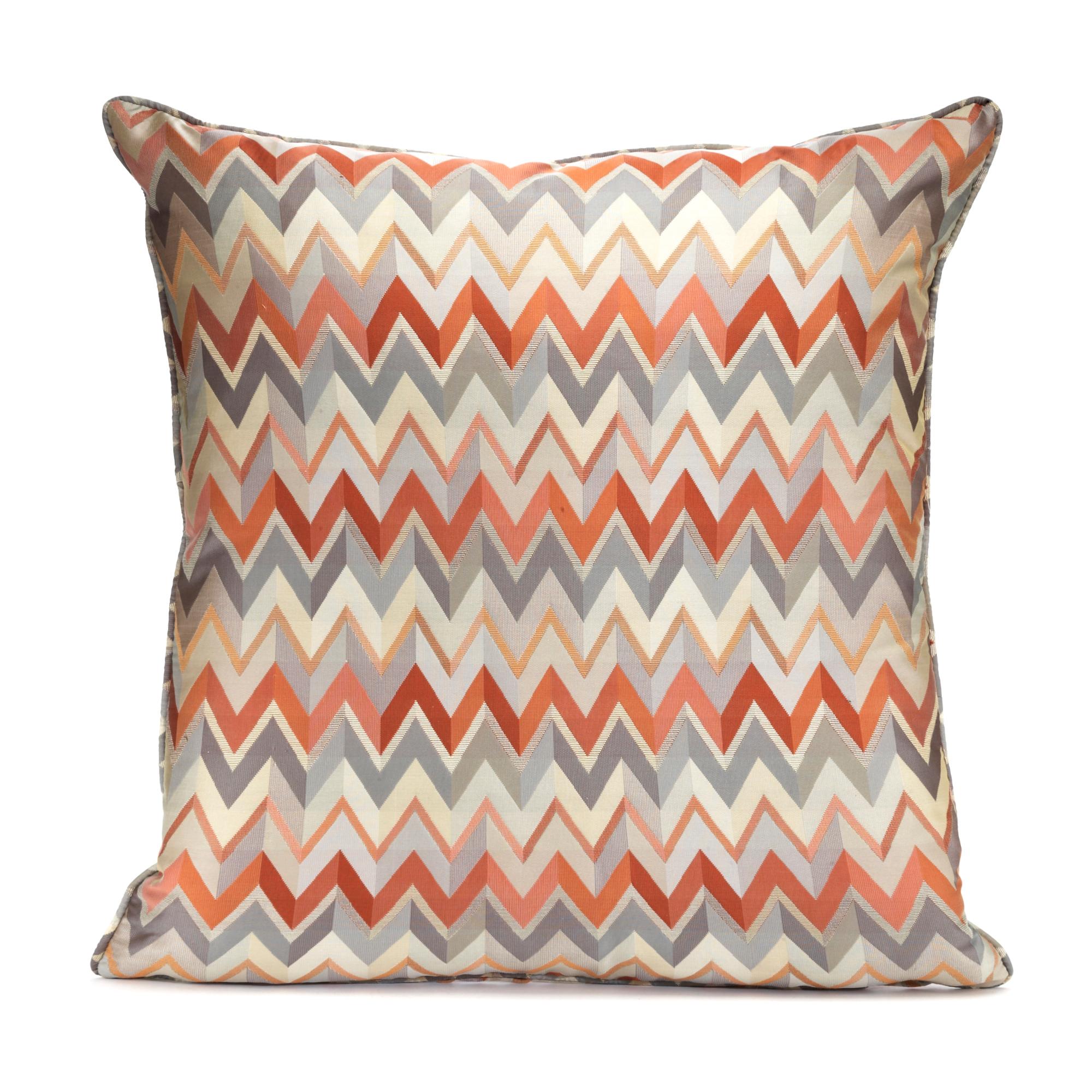 Throw Pillows Home : Zigzag Pillow Gump s
