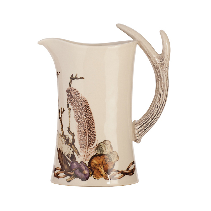 Juliska Forest Walk Pitcher, Café au Lait
