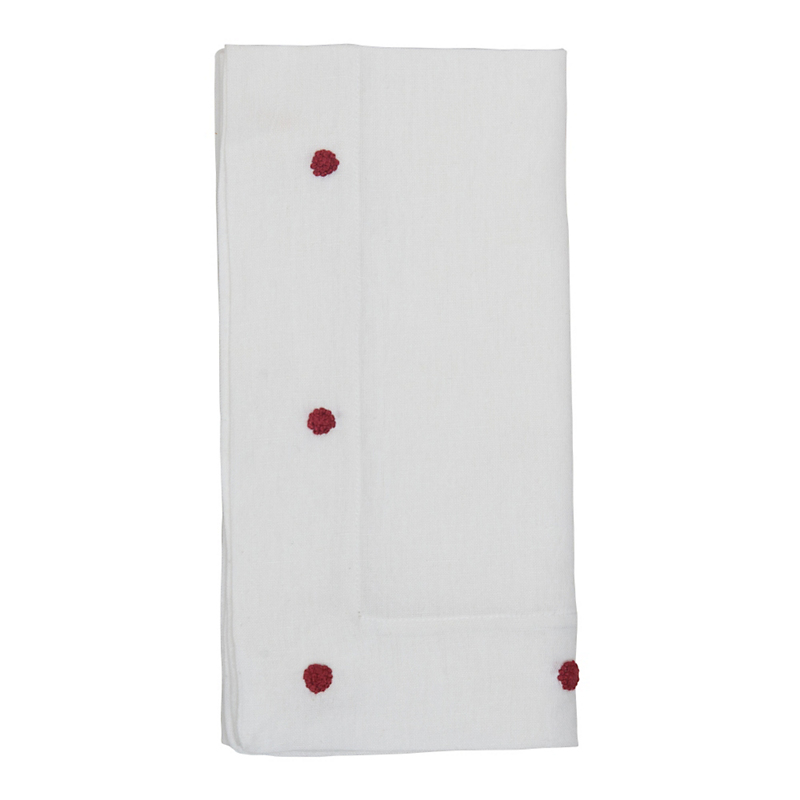 Juliska Berry Embroidered Napkin