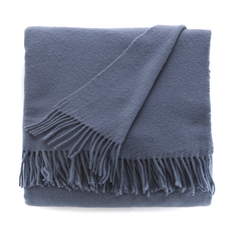 Iris Throw, Denim