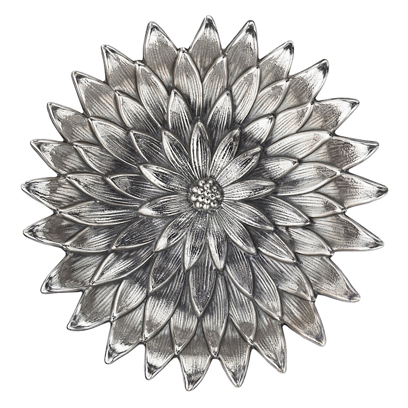 Buccellati Sterling Silver Anemone Dish, Extra Large