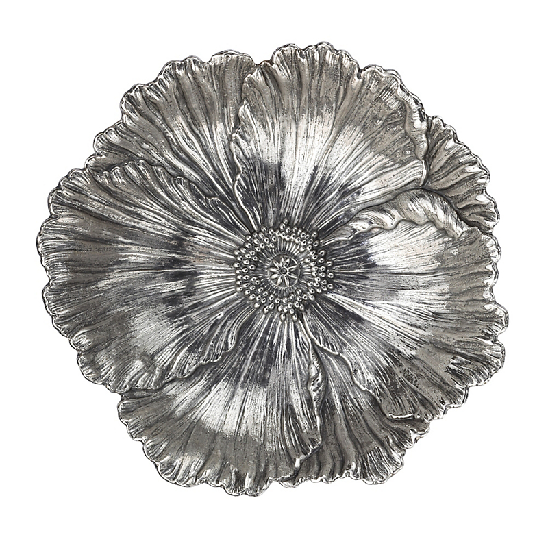 Buccellati Sterling Silver Poppy Dish, Large