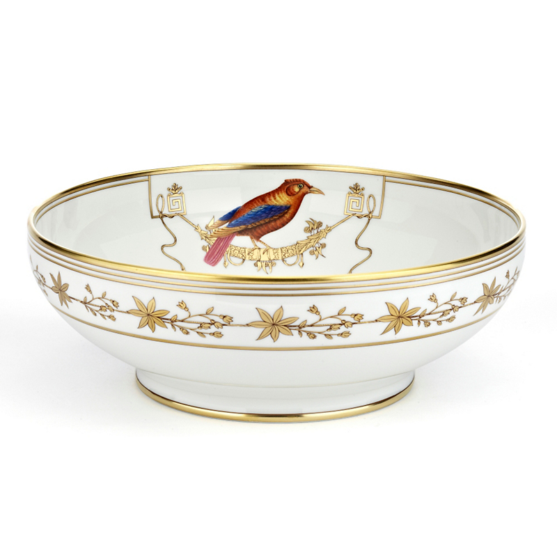 Richard Ginori Voliere Salad Bowl