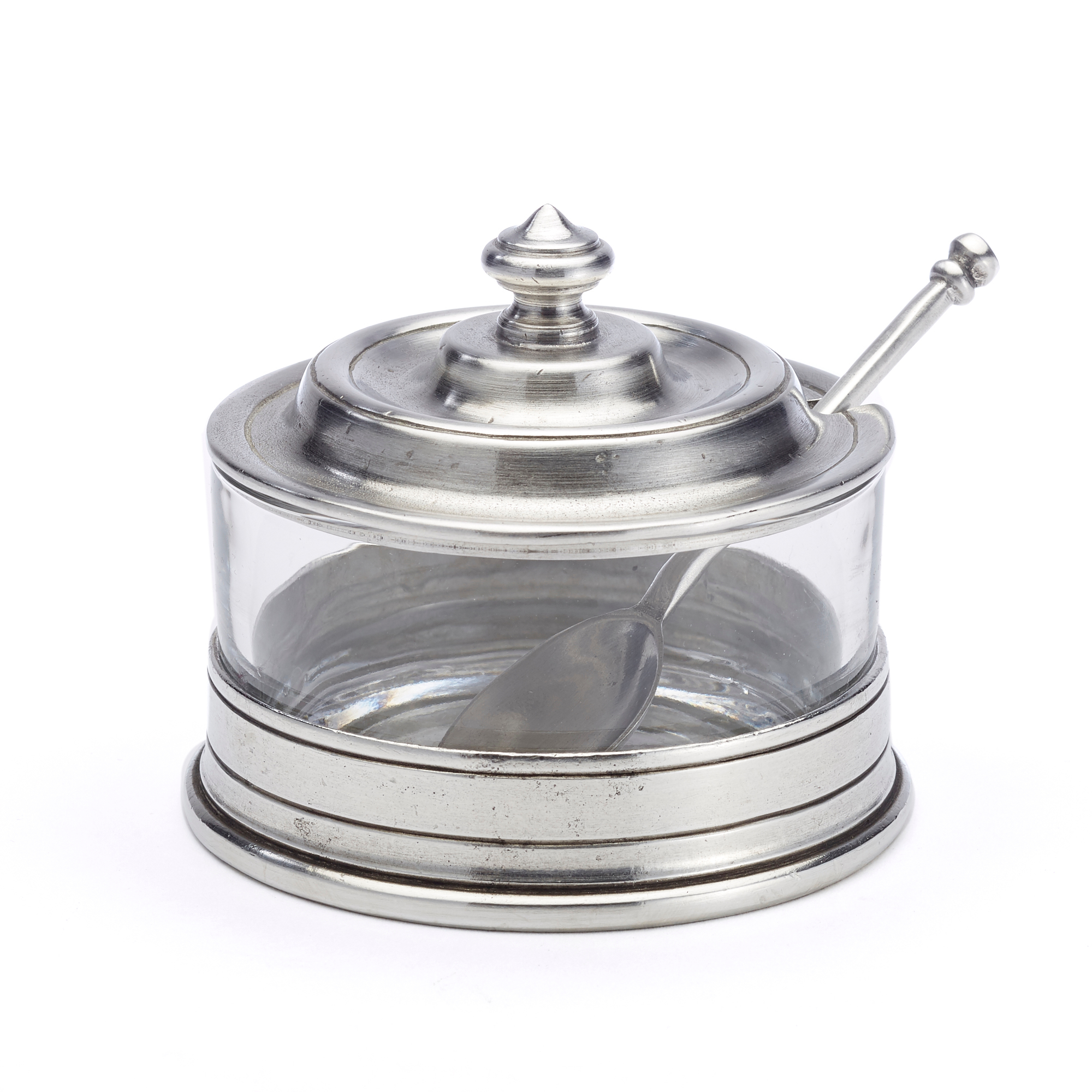 Match Jam Pot with Spoon