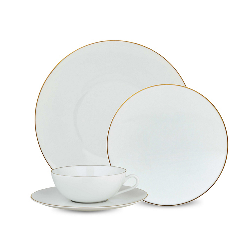 Raynaud Monceau Dinnerware, Gold