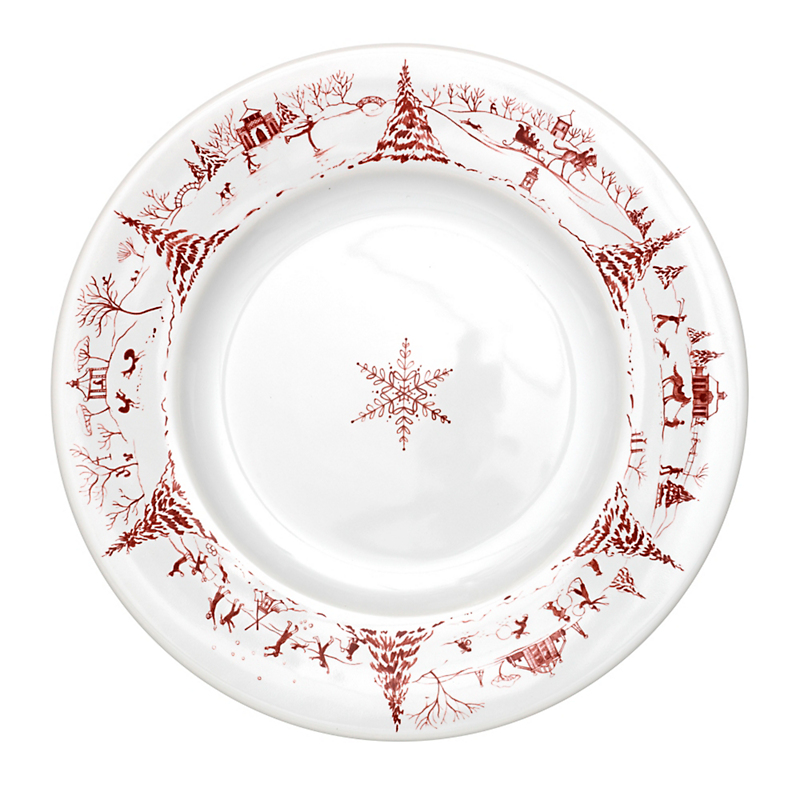 Juliska Country Estate Dinner Plate, Ruby