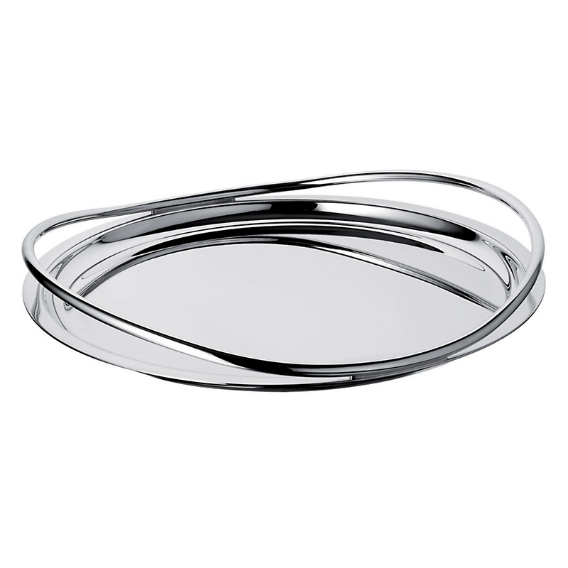Christofle Vertigo Round Tray