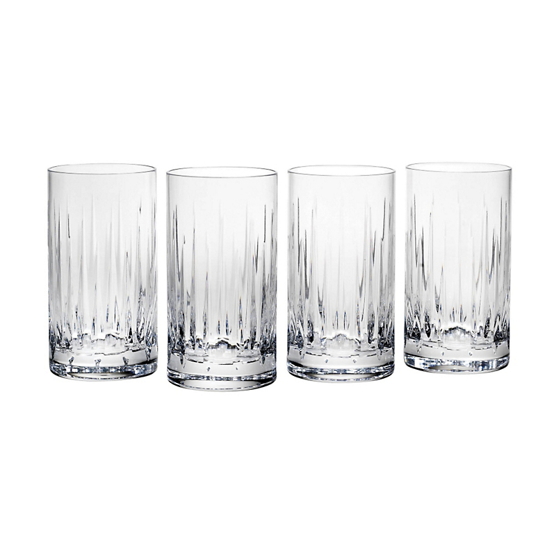 Reed & Barton Soho Highball Glasses, Set of 4