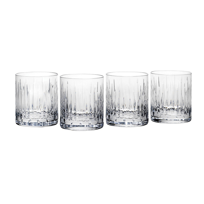 Reed & Barton Soho Double Old-Fashioned Glasses, Set of 4