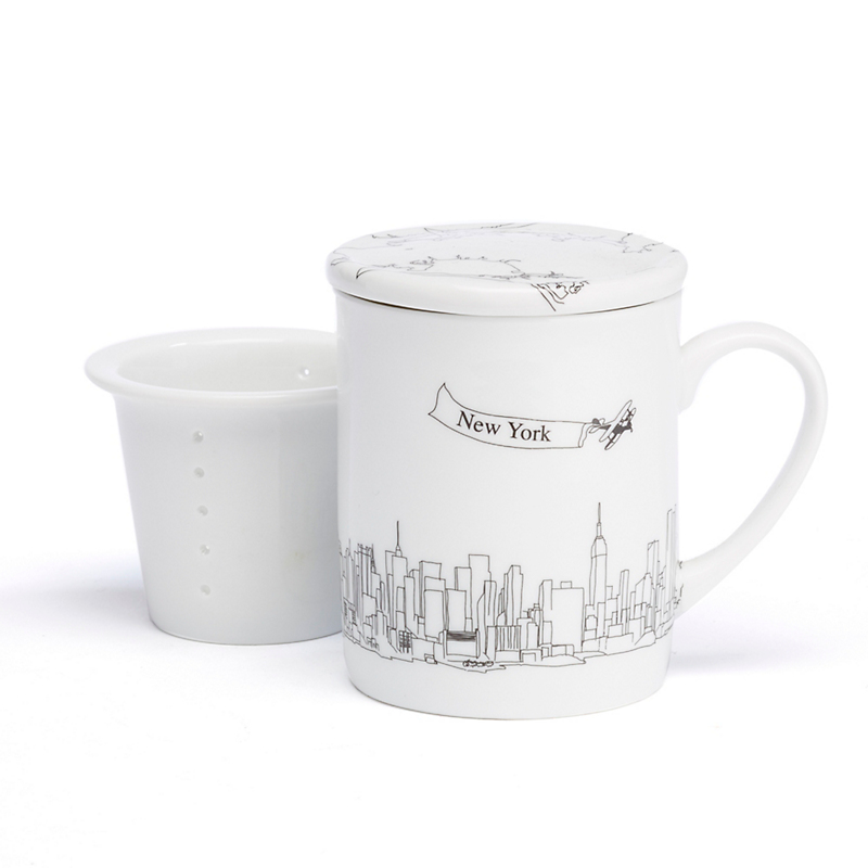 Rust Designs New York Mug