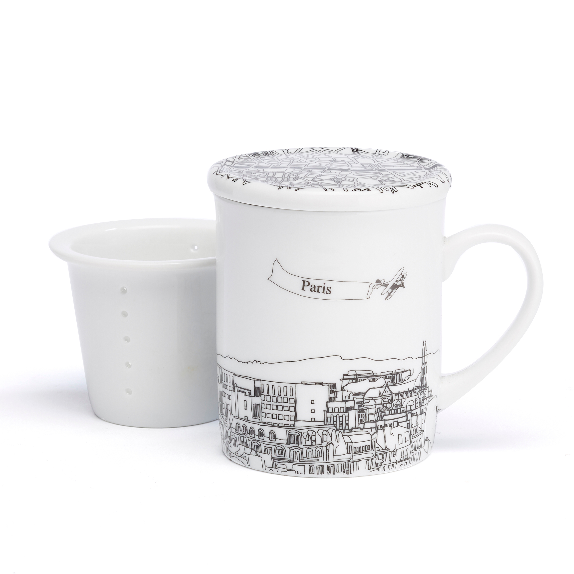 Paris City Mug
