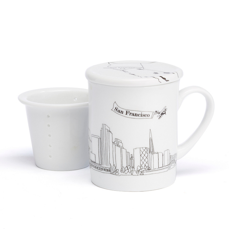 Rust Designs San Francisco Mug