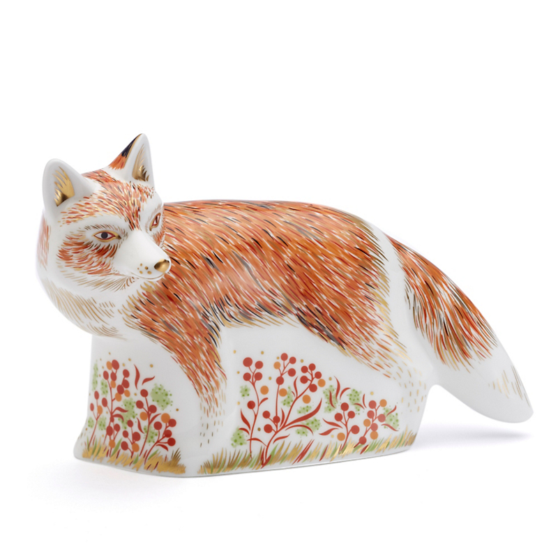 Royal Crown Derby Mother Fox Paperweight