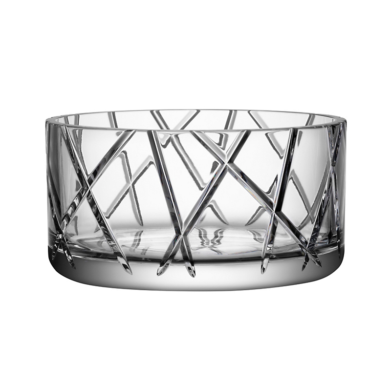 Orrefors Explicit Stripes Bowl