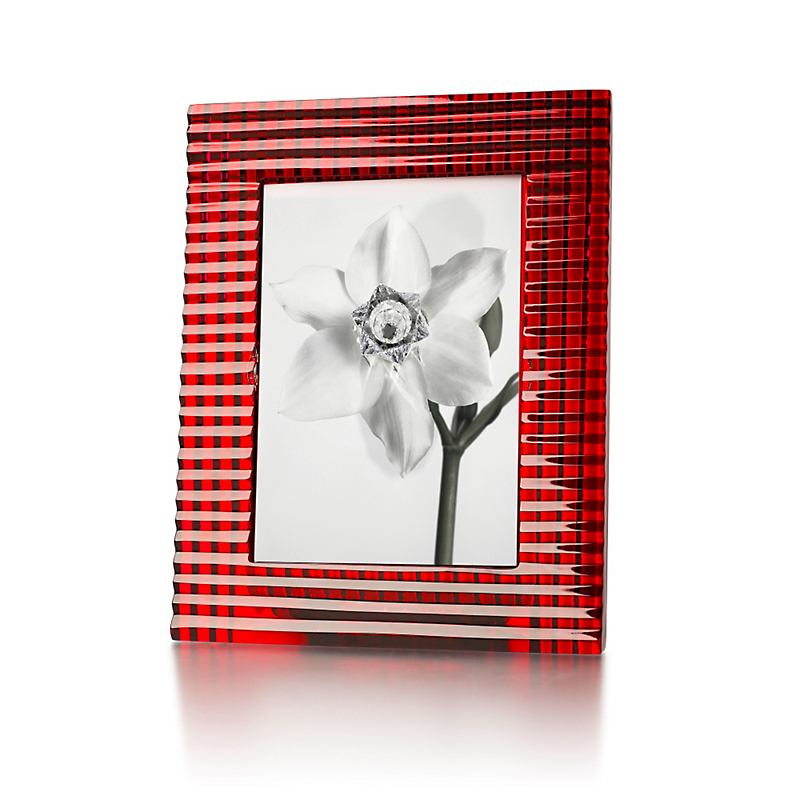 Baccarat Eye Picture Frame, Red